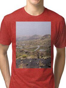 a desolate Cape Verde landscape Tri-blend T-Shirt