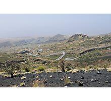 a desolate Cape Verde landscape Photographic Print