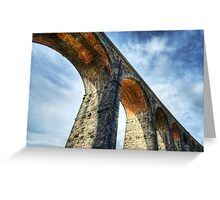 Ribblehead Viaduct - North Yorkshire Greeting Card
