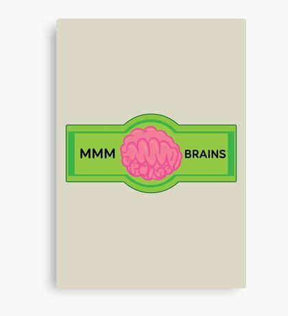 MMM Brains Canvas Print