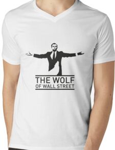 The Wolf of Wall Street - 'Wolfy' Mens V-Neck T-Shirt