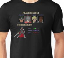 Retro Outlawed Justice Player Select - Super Knight Unisex T-Shirt