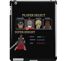 Retro Outlawed Justice Player Select - Super Knight iPad Case/Skin