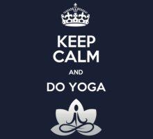 Keep Calm and do Yoga Kids Clothes