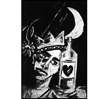 The Drunken Mellancholly King Photographic Print