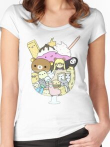 A Weakness for Sweetness Women's Fitted Scoop T-Shirt