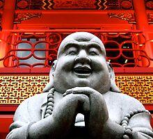 Happy Buddha by Valerie Rosen