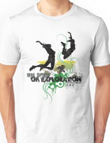 Spirit of Exploration - Green and Gold Unisex T-Shirt