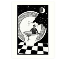 A Hurricane In A Teacup Art Print