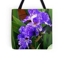 Multi-colored Iris Tote Bag