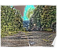 Fredericktown coal train Poster