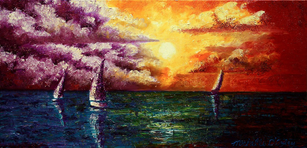 The Calm Before the Storm by Abstract D'Oyley
