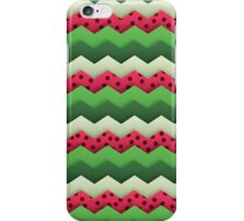 Watermelon Chevron iPhone Case/Skin