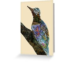 The Woodpecker Greeting Card