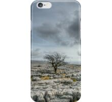 Lonely Tree - Ingleton, North Yorkshire iPhone Case/Skin