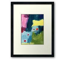 Lollipoptree cottage Framed Print