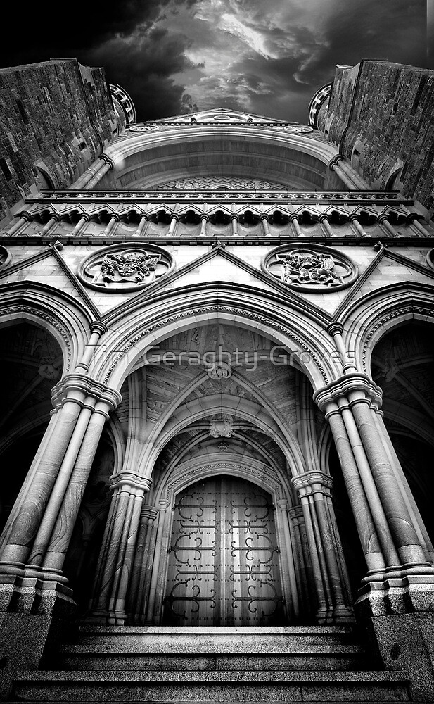 Doorway to The Transept by Tim  Geraghty-Groves
