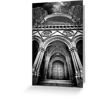 Doorway to The Transept Greeting Card