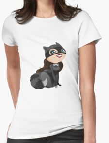 Funny girl dressed raccoon bandit T-Shirt