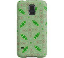 Green abstract pattern Samsung Galaxy Case/Skin