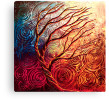 The Uprising Tree Canvas Print