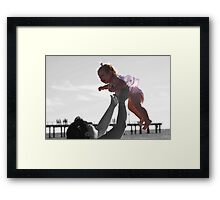 Flying~ Framed Print