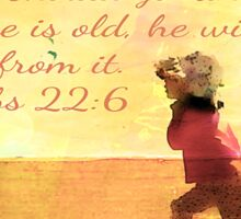 Proverbs 22:6 Sticker