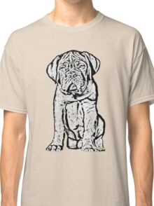 Dogue De Bordeaux Puppy Classic T-Shirt