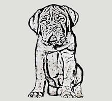 Dogue De Bordeaux Puppy Womens Fitted T-Shirt