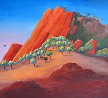 Dawn in the Kimberley by Faye Doherty