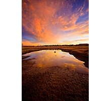 Big Puddle Photographic Print