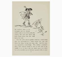 English Fairy Tales by Flora Annie Webster Steel art Arthur Rackham 1922 0130 On His Way to Be Revenged Kids Tee