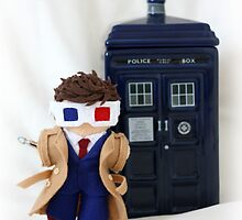 Tenth Doctor inspired plush by DrowsyAurora