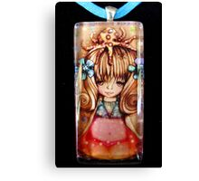 My New Pendant by Karin Taylor & frozenfa Canvas Print