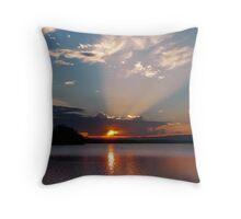 Spot Light on St Georges Basin Throw Pillow