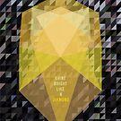 Shine Bright Like A Diamond by SuburbanBirdDesigns By Kanika Mathur