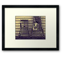 Stealing Some Memories Framed Print