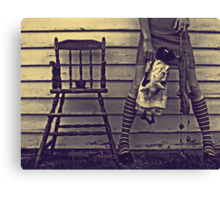 Stealing Some Memories Canvas Print