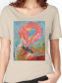 Pink Flamingo Women's Relaxed Fit T-Shirt