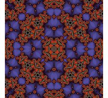 Colorful abstract pattern Photographic Print