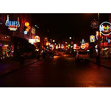 Beale Street in Memphis Photographic Print