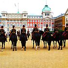 London. Mounted Royal Guards. Great Britain 2009 by Igor Pozdnyakov