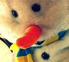 Sparkles the Snowman by AuntDot