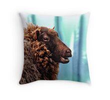 Ewe's Not Fat....Ewe's Fluffy Throw Pillow