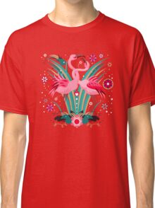 LOVE & FLAMINGO  Classic T-Shirt