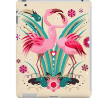 LOVE & FLAMINGO  iPad Case/Skin