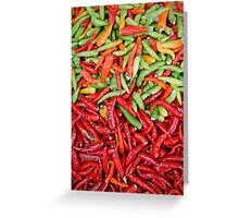 Chilis Greeting Card