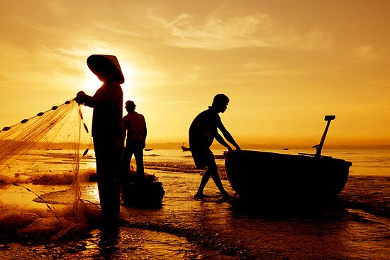 Vietnam Sunrise by Alex  Bramwell