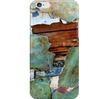 Peeling Away the Layers of Time iPhone Case/Skin