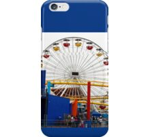 Ferris Wheel at Santa Monica Pier California iPhone Case/Skin